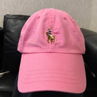 ラルフローレン(Ralph Lauren)のPOLO キャップ ピンク(キャップ)