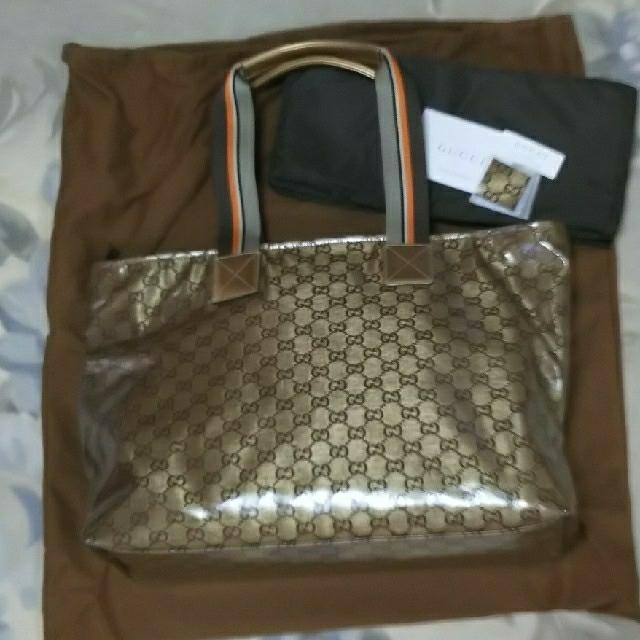 Gucci(グッチ)の【新品未使用】GUCCIトートバック レディースのバッグ(トートバッグ)の商品写真