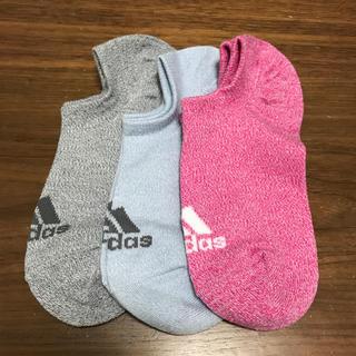 アディダス(adidas)のさやぴ様☆新品未使用 アディダス 靴下(ソックス)