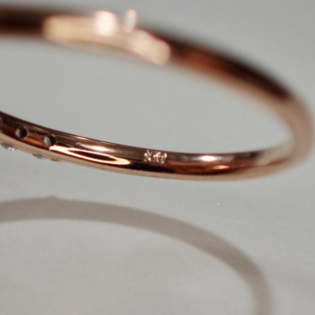 agete(アガット)のハーフエタニティ H&C レディースのアクセサリー(リング(指輪))の商品写真