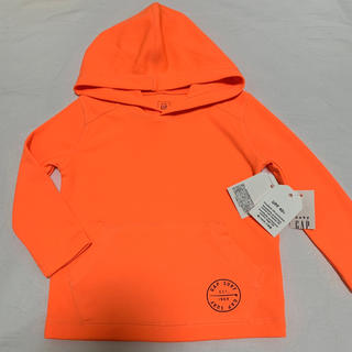 babyGAP - 新品 ベビーギャップ UV 長袖 ラッシュガード 80 水着 オレンジ