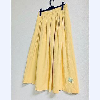 【未使用】~リンネルコラボ~タックスカート(ロングスカート)