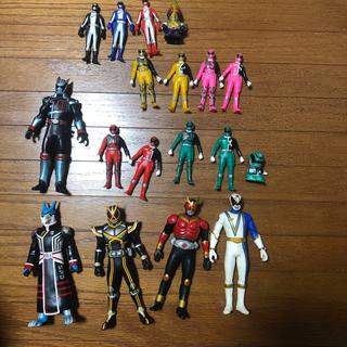 バンダイ(BANDAI)のレンジャー系、仮面ライダー系フィギュア・指人形セット(ぬいぐるみ/人形)