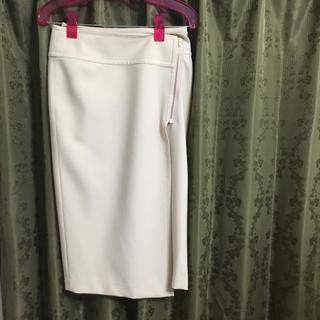 ノーブル(Noble)のノーブル サイドジップラップスカート サイズ36(ひざ丈スカート)
