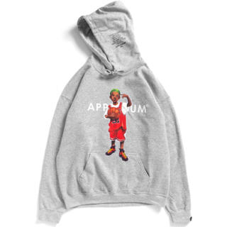 アップルバム(APPLEBUM)のM applebum worm boy sweat parka(パーカー)