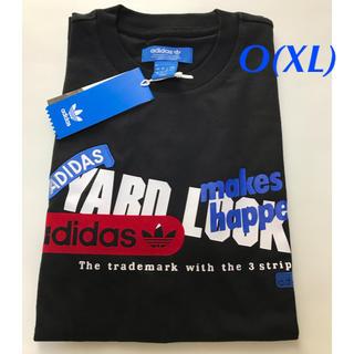 アディダス(adidas)の【メンズO】黒  グラフィックTシャツ(Tシャツ/カットソー(半袖/袖なし))