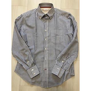 ブルネロクチネリ(BRUNELLO CUCINELLI)のブルネロクチネリ ストライプ コットンシャツ  (シャツ)