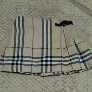バーバリー(BURBERRY)のBURBERRY チェック巻きスカート 2(スカート)
