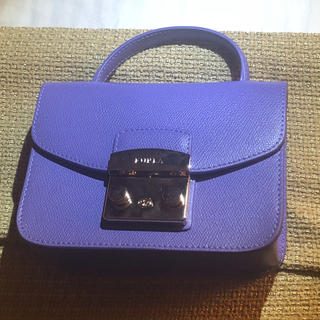 d56e70e0d498 フルラ(Furla)の新品 Furla フルラ METROPOLIS チェーンショルダー バッグ 紫(ハンドバッグ)
