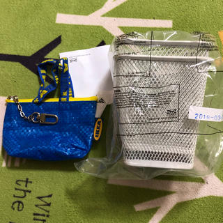 イケア(IKEA)のIKEA 小物入れ コインケース セット(コインケース)