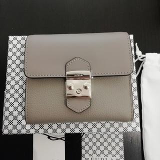 84208bfceb06 フルラ(Furla)のFURLA メトロポリス ミニ財布 サッビア グレージュ 大人気カラー(財布