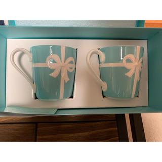 ティファニー(Tiffany & Co.)のTiffany マグカップ 2つセット(マグカップ)