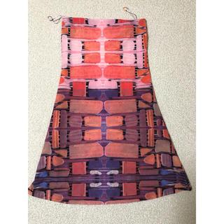 アッシュペーフランス(H.P.FRANCE)のTramandoのフレアスカート(ひざ丈スカート)
