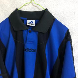 アディダス(adidas)の90s adidas ゲームシャツ (Tシャツ/カットソー(半袖/袖なし))