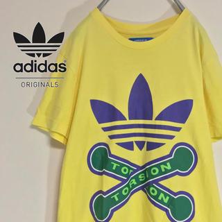 アディダス(adidas)の【人気のトレフォイル  ビッグロゴ】AdidasトルションTEE T-Shirt(Tシャツ/カットソー(半袖/袖なし))