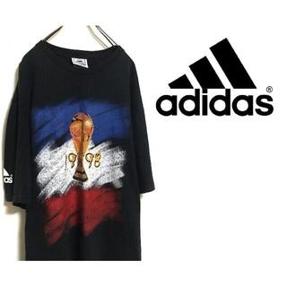 アディダス(adidas)の【希少・プレミア】Félicitations, la France 半袖シャツ(Tシャツ/カットソー(半袖/袖なし))