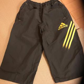 アディダス(adidas)のアディダス☆ナイロン ハーフパンツ 160 カーキ色(パンツ/スパッツ)
