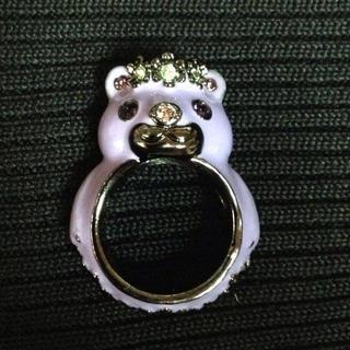 アナスイ(ANNA SUI)のANNA SUIクマさん指輪《新品》(リング(指輪))