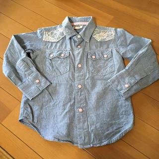 ドンキージョシー(Donkey Jossy)のデニムシャツ 100(Tシャツ/カットソー)