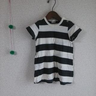 ターカーミニ(t/mini)の未使用! 丸高衣料 ターカーミニ 太ボーダー(ワンピース)