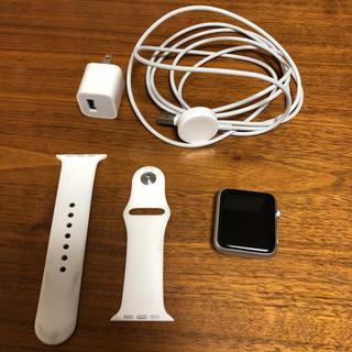 アップルウォッチ(Apple Watch)の訳ありApple Watchの初代7000シリーズ42mm(スマートフォン本体)