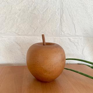 アクタス(ACTUS)のACTUSりんごのオブジェ  単品(置物)