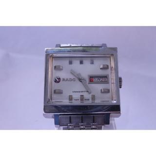 ラドー(RADO)の☆ラドーマンハッタン・ホワイトOH済みNo.2美品☆(腕時計(アナログ))