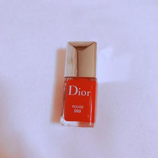 クリスチャンディオール(Christian Dior)のdior ディオール ヴェルニ 999(マニキュア)