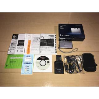 パナソニック(Panasonic)のパナソニック LUMIX FP1 シルバー(コンパクトデジタルカメラ)
