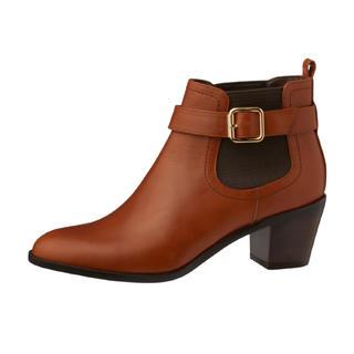 ダイアナ(DIANA)の仕事履きに◎  DIANA ベルト付きサイドゴアショートブーツ(ブーツ)