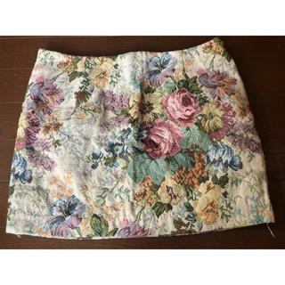 ダチュラ(DaTuRa)のDatura 花柄 スカート(ミニスカート)