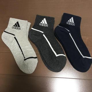 adidas - 新品★アディダス 靴下 ソックス 3足 スポーツソックス 19~21cm
