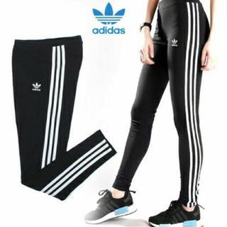 アディダス(adidas)の新品 アディダス オリジナルス adidas レギンス ヨガウェア Lサイズ(レギンス/スパッツ)