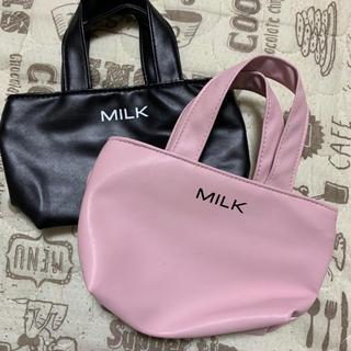 ミルク(MILK)の値下げ milk ノベルティ バッグ ポーチ(ポーチ)