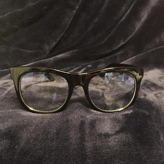 ユニクロ(UNIQLO)のUNIQLO 美品伊達メガネ  ブルーライト加工品(サングラス/メガネ)
