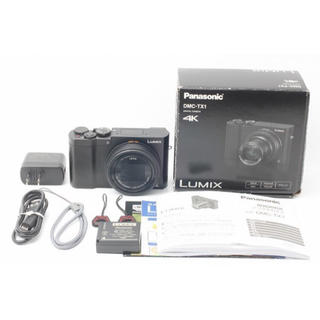 パナソニック(Panasonic)のPanasonic パナソニックルミックス 光学10倍ブラックDMC-TX1-K(コンパクトデジタルカメラ)
