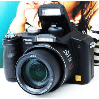 パナソニック(Panasonic)の★高級メーカー ライカレンズ★WIFI★届いてすぐ使える★パナソニック FZ8(コンパクトデジタルカメラ)