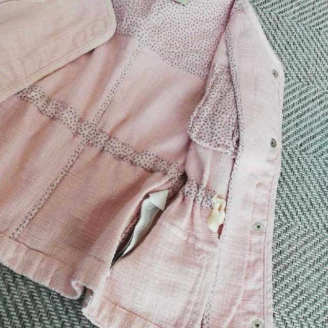 ZARA KIDS(ザラキッズ)の美品 ZARA スプリングジャケット キッズ/ベビー/マタニティのキッズ服 女の子用(90cm~)(ジャケット/上着)の商品写真