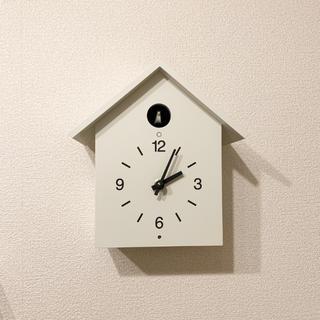 ムジルシリョウヒン(MUJI (無印良品))の【送料込み】無印良品 鳩時計(掛時計/柱時計)