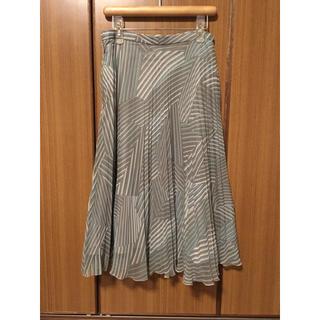 アトリエサブ(ATELIER SAB)のATELIER SAB プリーツスカート(ひざ丈スカート)