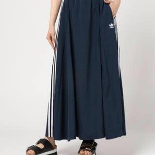アディダス(adidas)のアディダス ロングスカートSサイズ(ロングスカート)