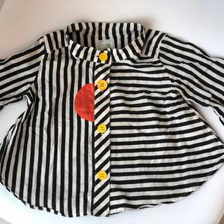 コドモビームス(こどもビームス)のzozio ストライプシャツ(シャツ/カットソー)