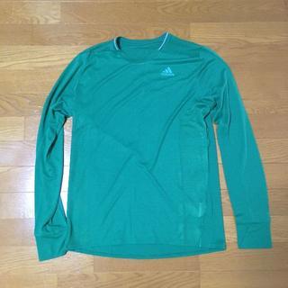 アディダス(adidas)のadidas Snova メンズ リフレクト長袖ランニングシャツ Mサイズ(ウェア)