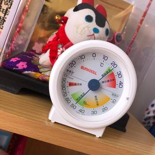 ニシマツヤ(西松屋)の温湿度計(日用品/生活雑貨)