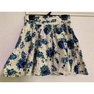 ローリーズファーム(LOWRYS FARM)の花柄スカート  最終値下げ(ミニスカート)