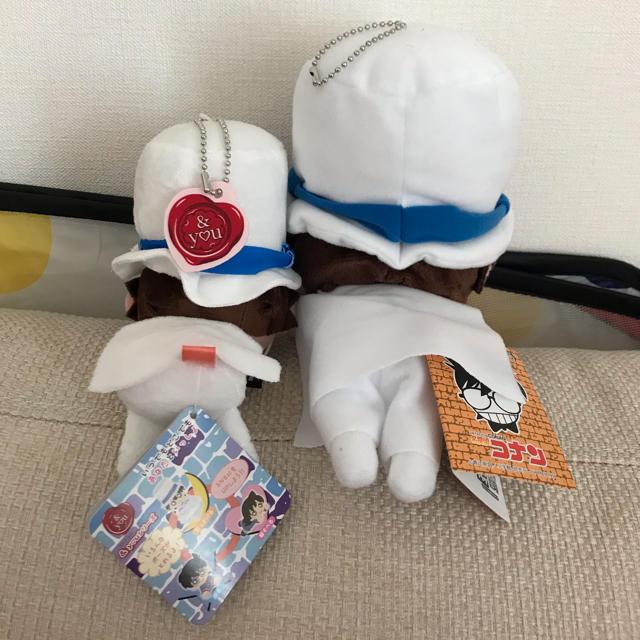 SEGA(セガ)の怪盗キッド ぬいぐるみ セット エンタメ/ホビーのおもちゃ/ぬいぐるみ(キャラクターグッズ)の商品写真