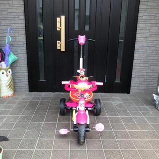 ディズニー(Disney)のミニー 三輪車(三輪車)