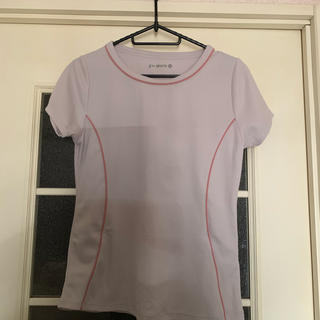 ジーユー(GU)のgu スポーツ tシャツ M(ウェア)