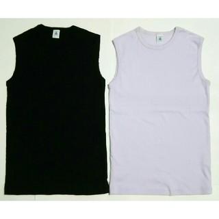 プチバトー(PETIT BATEAU)のプチバトー  タンクトップ 2枚セット(Tシャツ/カットソー)