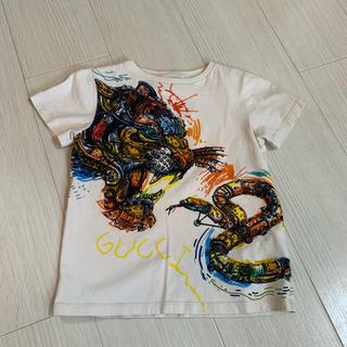 グッチ(Gucci)のGUCCI グッチ チルドレン 半袖 Tシャツ 美品 5 110 美品(Tシャツ/カットソー)